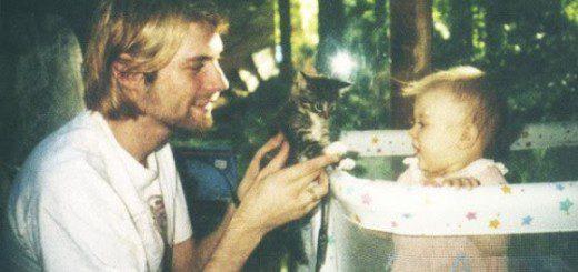 Kurt cobain kitten baby