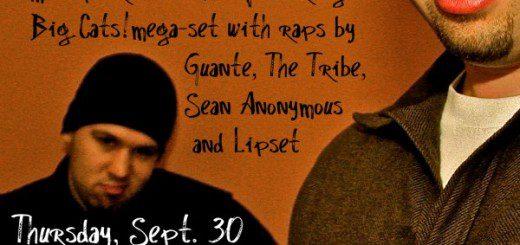 mixtape release show flyer