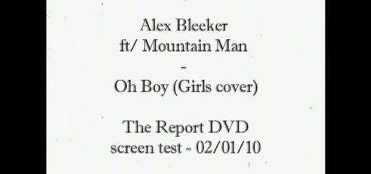 """Alex Bleeker and Mountain Man """"Oh Boy"""""""