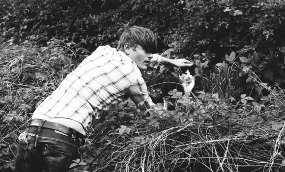 john dwyer with cat