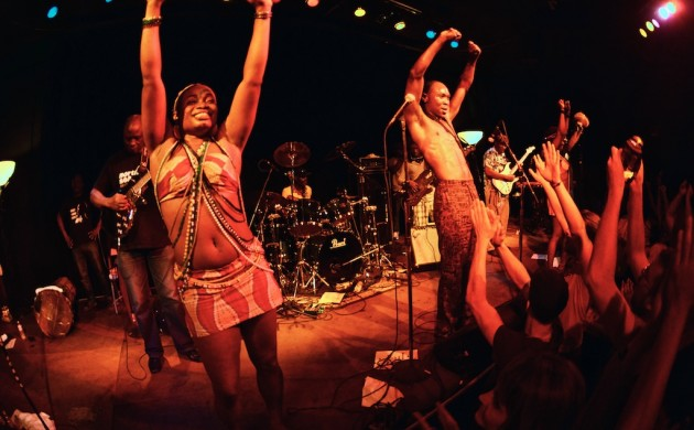 Photos: Seun Kuti and the Egypt 80 at the Cedar Cultural Center