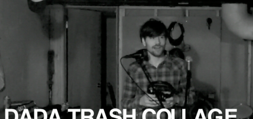 Video: Dada Trash Collage: Moon