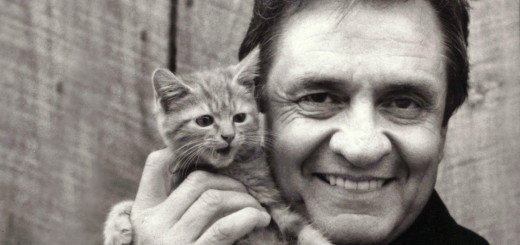 johnny cash cat photo